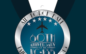 2018 Fairchild Air Force Ball Tie Tab Poster