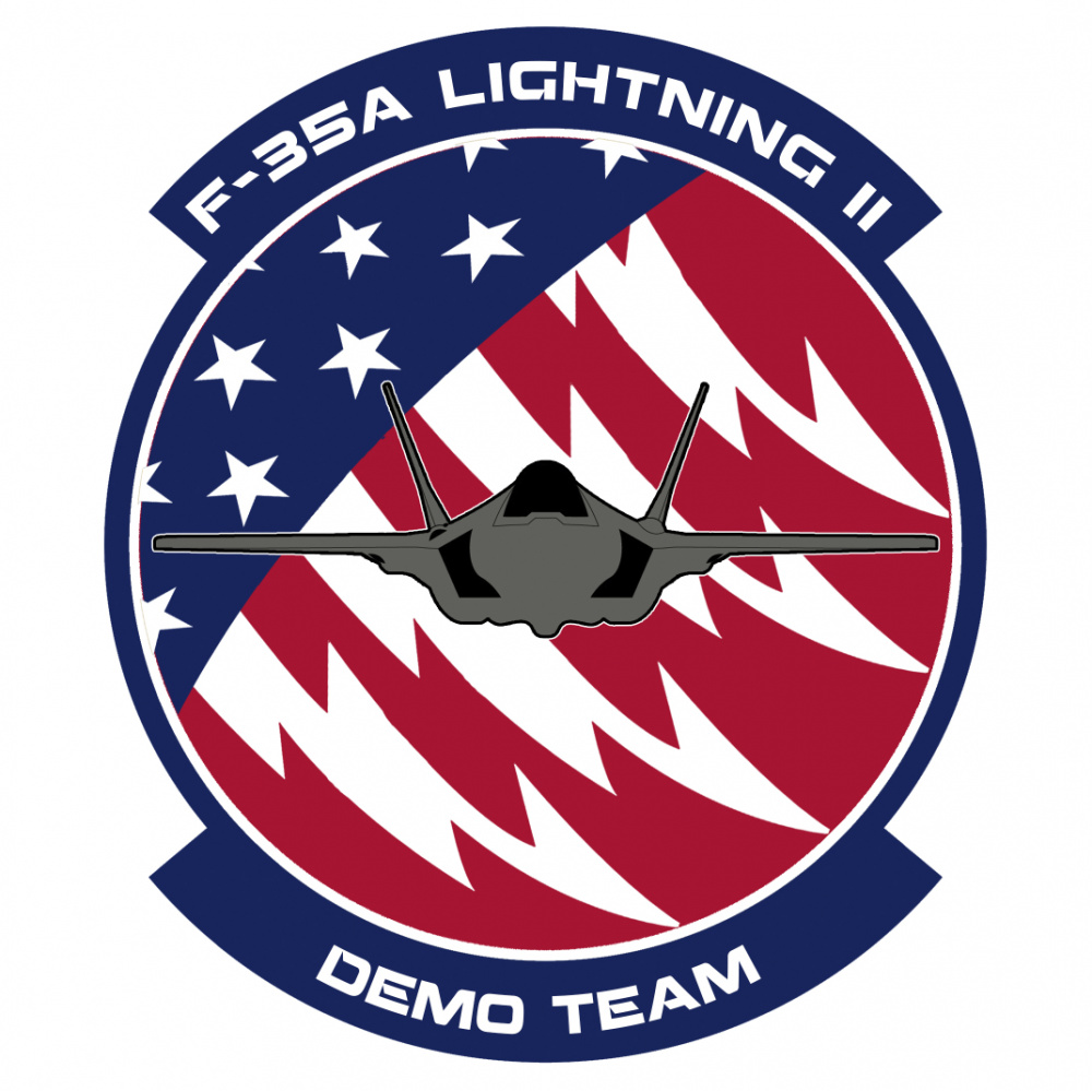 F-35A Demo Team Patch