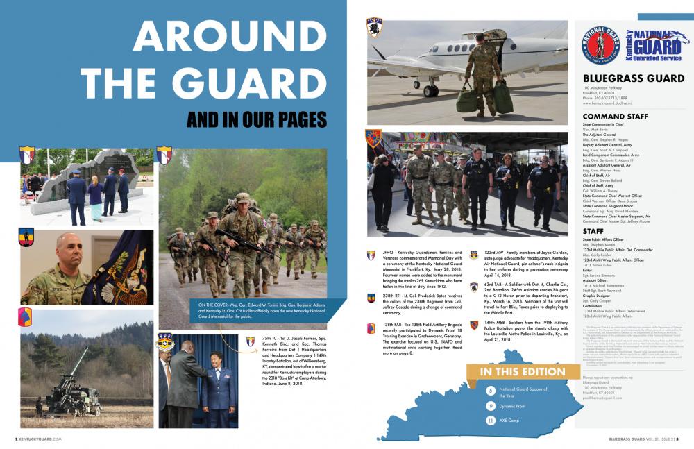 Bluegrass Guard Magazine