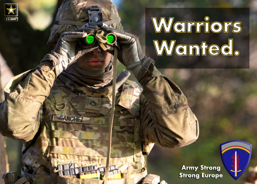 Warriors Wanted