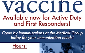 30th Med Group Flu Vaccine Advertisement