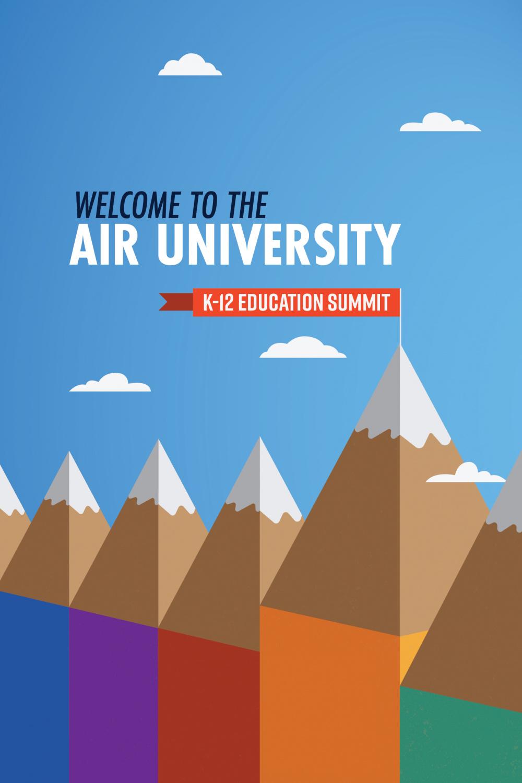 Air University K-12 Education Summit poster