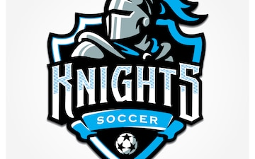 21st Space Wing Knights Soccer Club Logo - 300 DPI