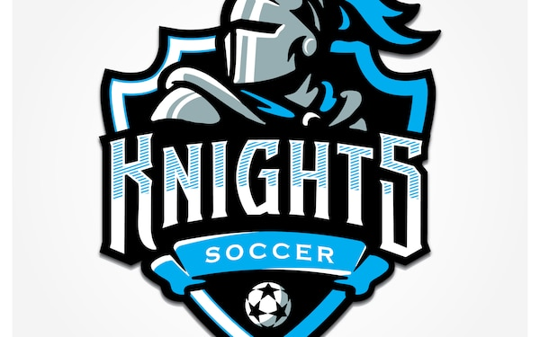21st Space Wing Knights Soccer Club Logo - 300 DPI