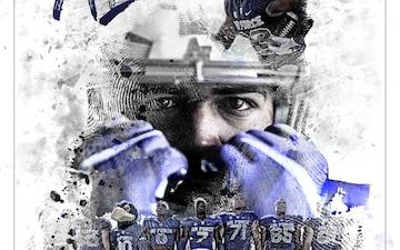 2018 U.S. Air Force Academy Football Motivational Poster - 300 DPI