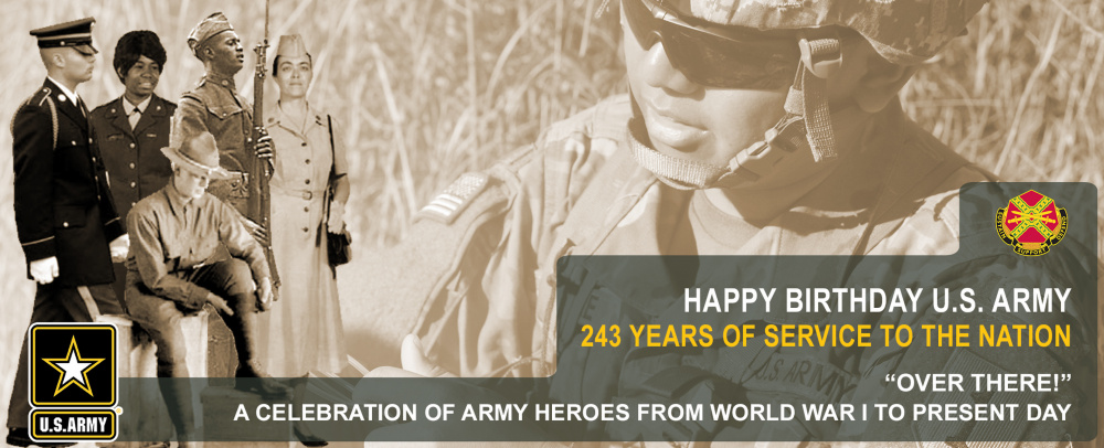 U.S. Army Fort Riley recognized the Army's 243rd birthday