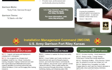 U.S. Army Garrison Fort Riley Strategic Plan 2030