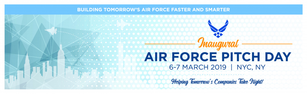 Air Force Pitch Day Banner