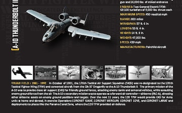 70th Anniversary Booklet - Aircraft Spread