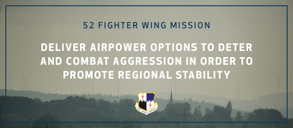 52nd FW mission statement graphic