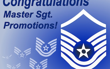 Master Sergeant Promotion graphic