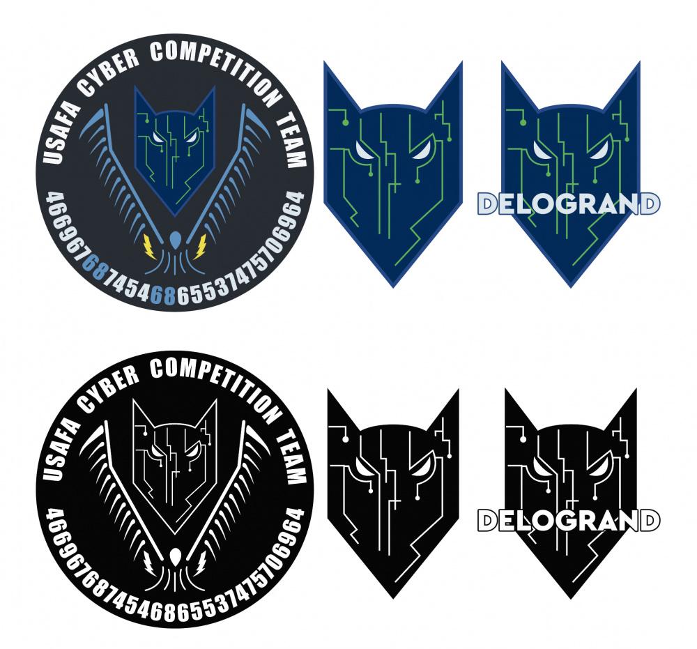 USAFA Cyber Team Patch