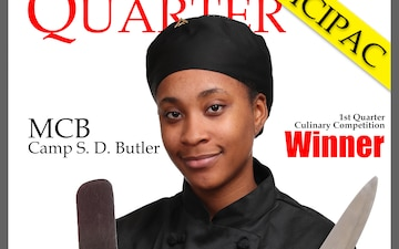 Culinary Competition Winner Poster