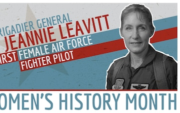 Women's History Month - Brigadier General Jeannie Leavitt