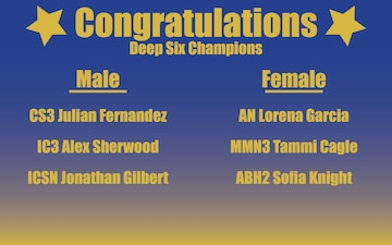 Deep Six Challenge Winners