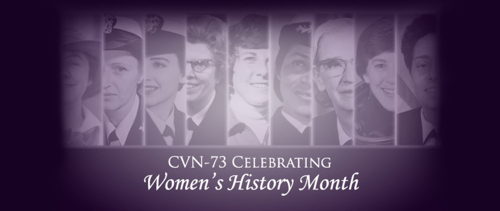 Famous Women In U.S. Navy Banner