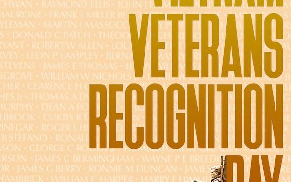 National Vietnam Veterans Recognition Day Observance Poster