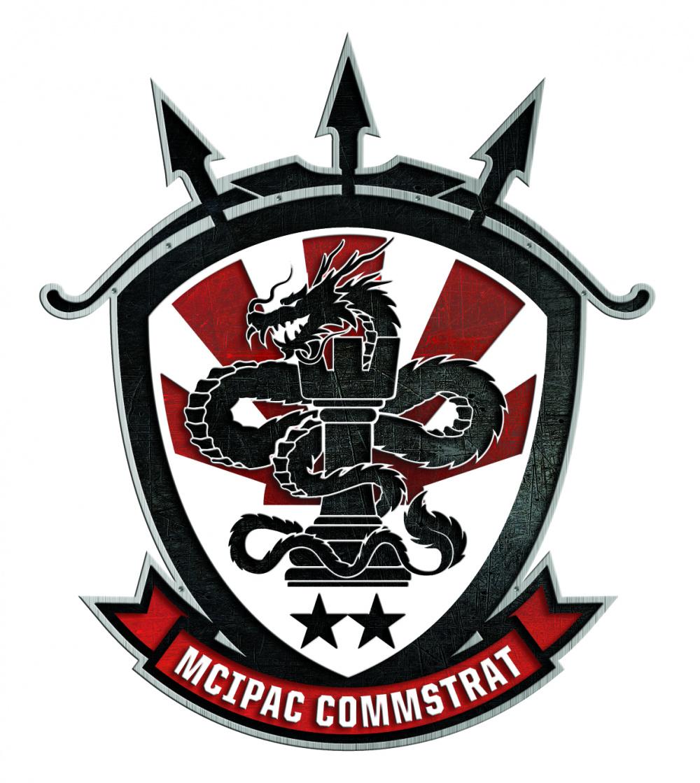 MCBB-MCIPAC Combat Visual Information Center Logo