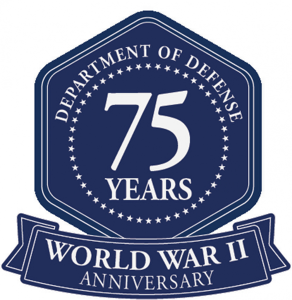 WWII logo graphic (blue)