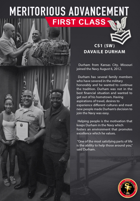 CS2 Davaile Durham Meritoriously Advanced