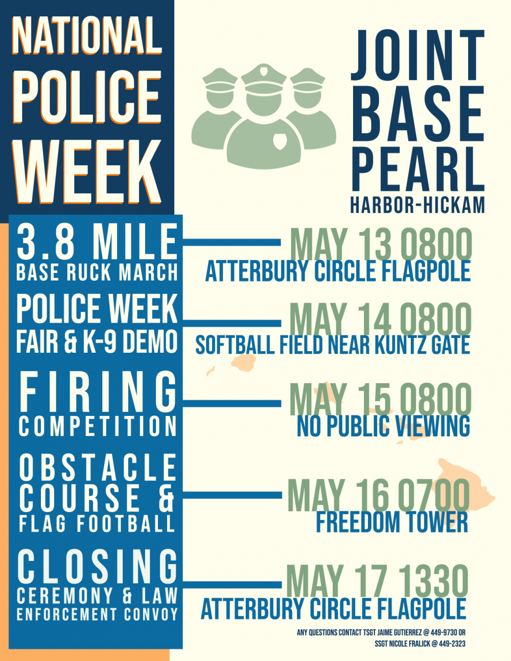 National Police Week Events - Joint Base Pearl Harbor-Hickam