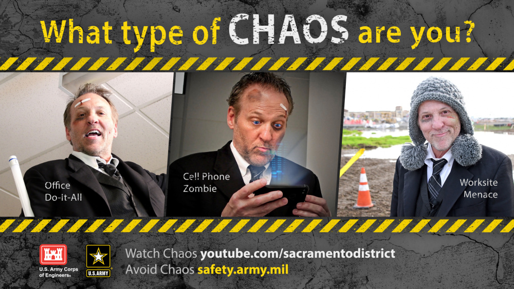 What type of chaos are you? Poster