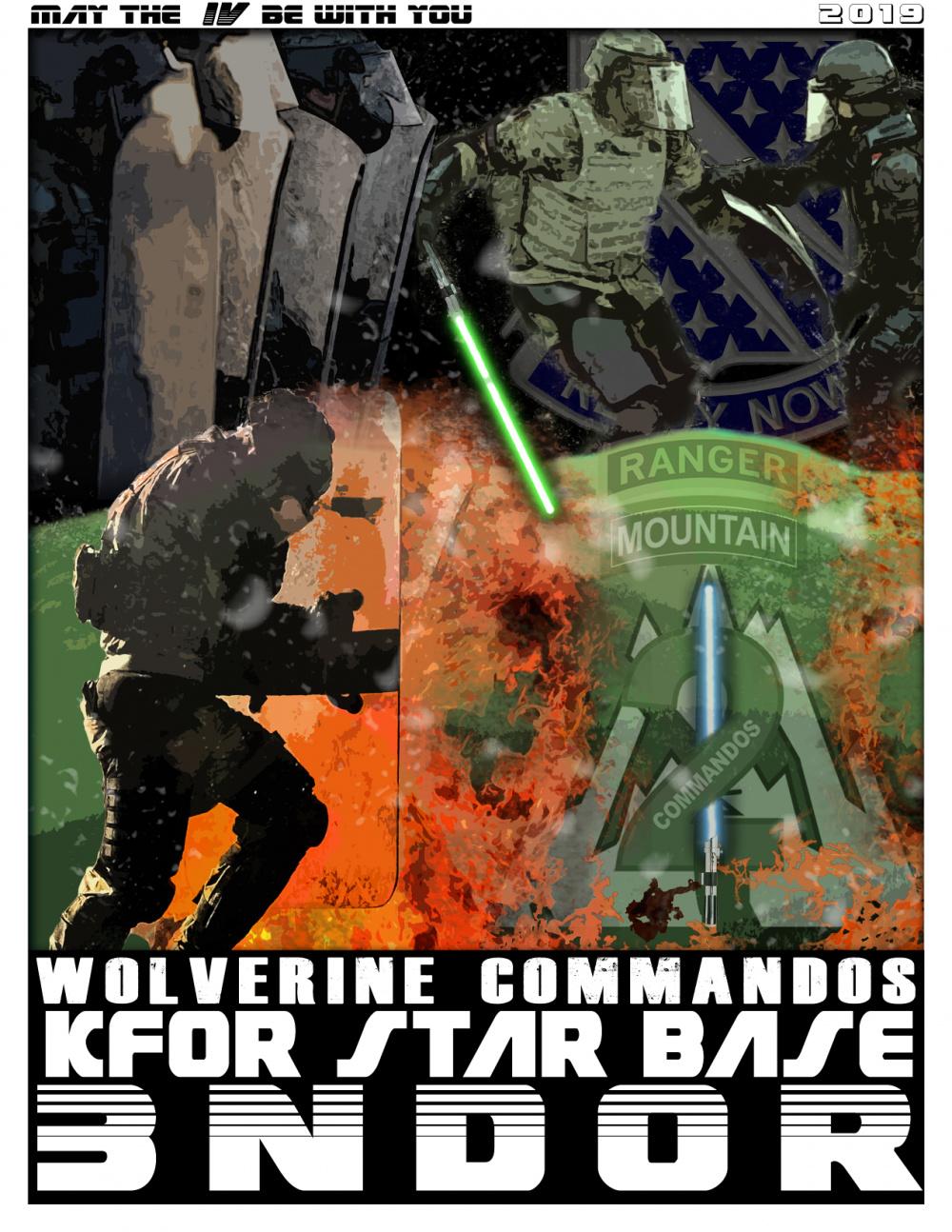 Commandos across the galaxy