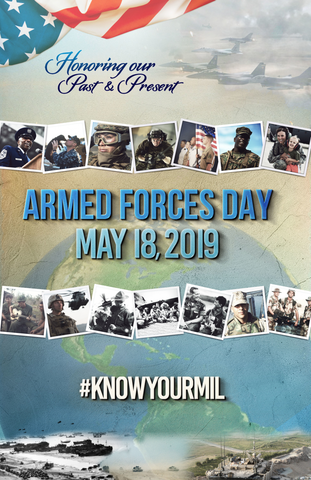 2019 Armed Forces Graphic