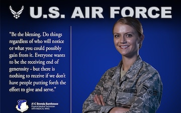 What's Your Why - A1C Brenda Barnhouse