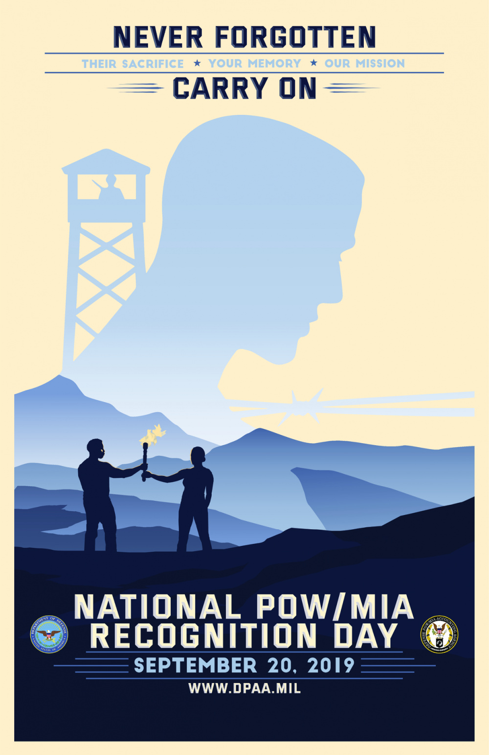 2019 POW/MIA Recognition Day Poster