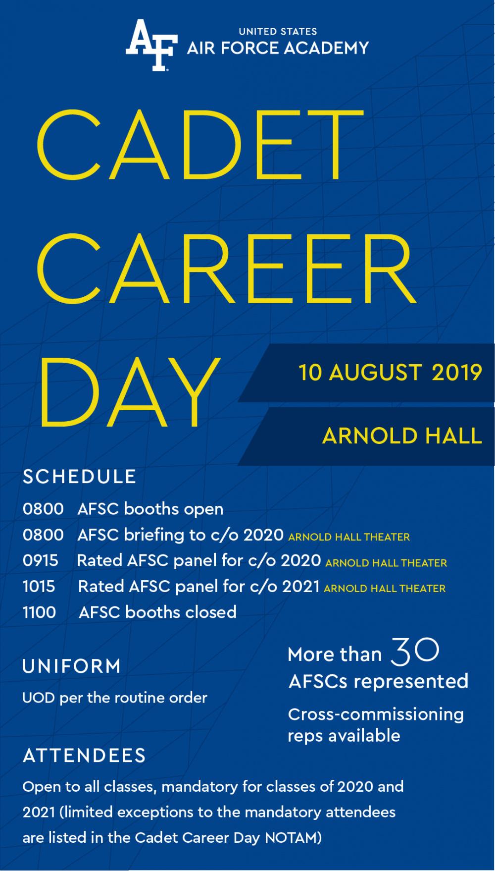 USAFA Cadet Career Day