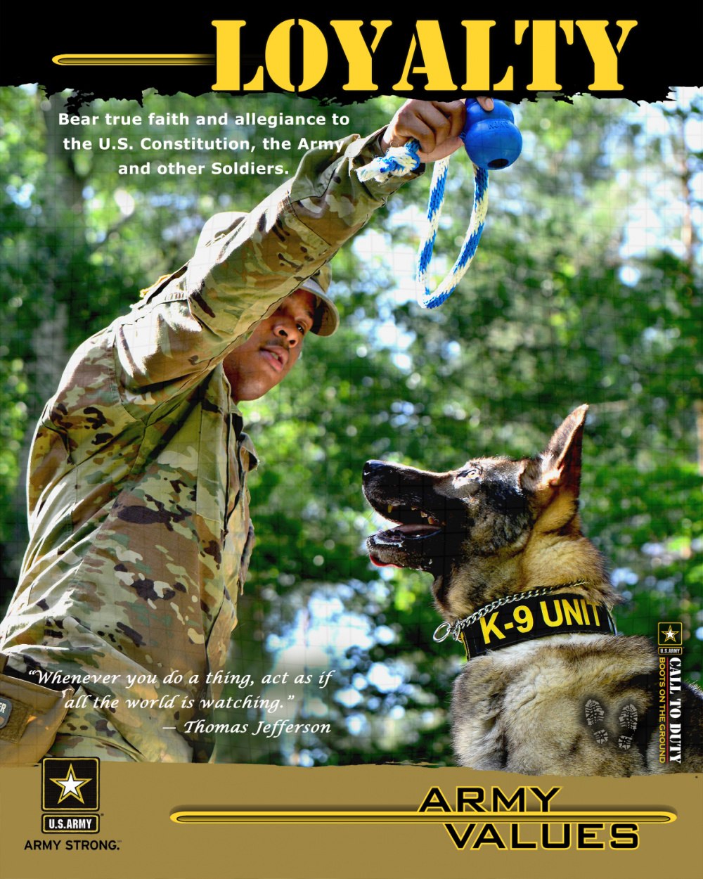 Army Values - Loyalty