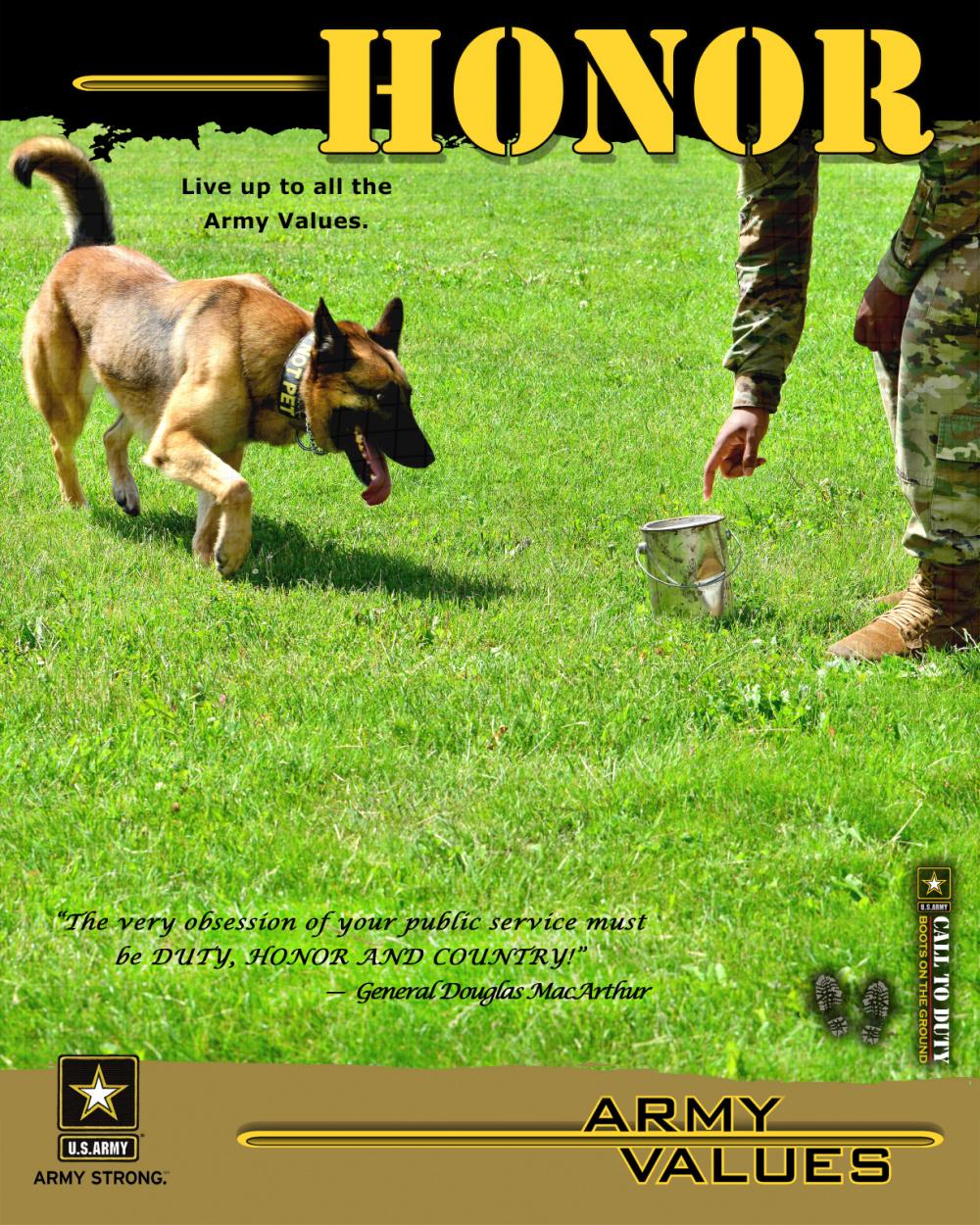 Army Values - Honor