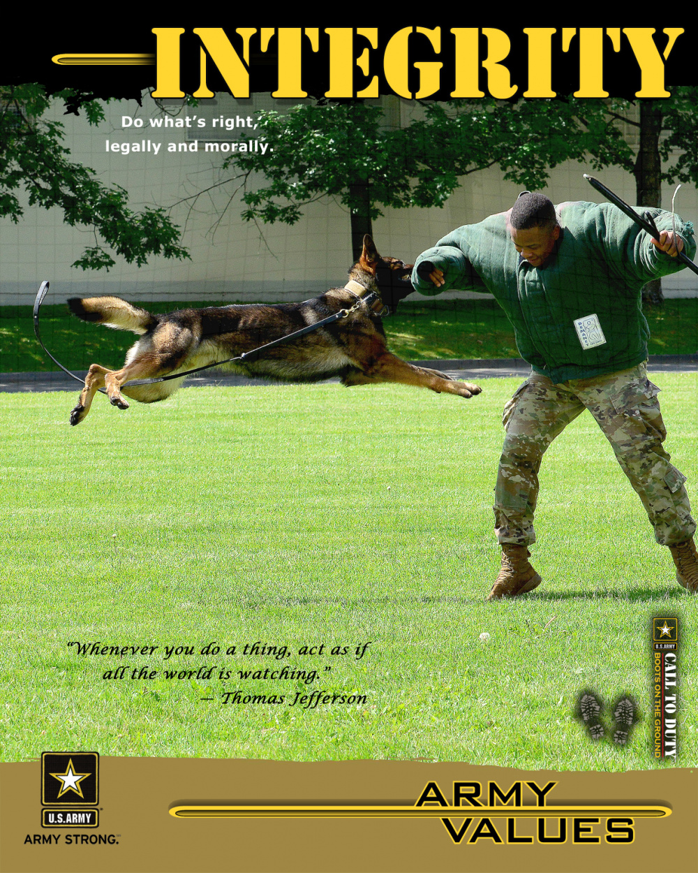 Army values - Integrity