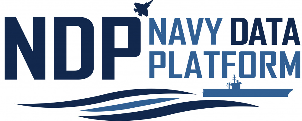 Navy Data Platform Logo
