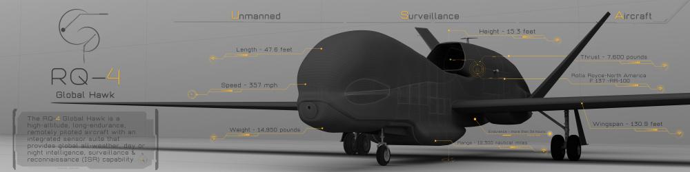 RQ-4 Unmanned Surveillance Aircraft