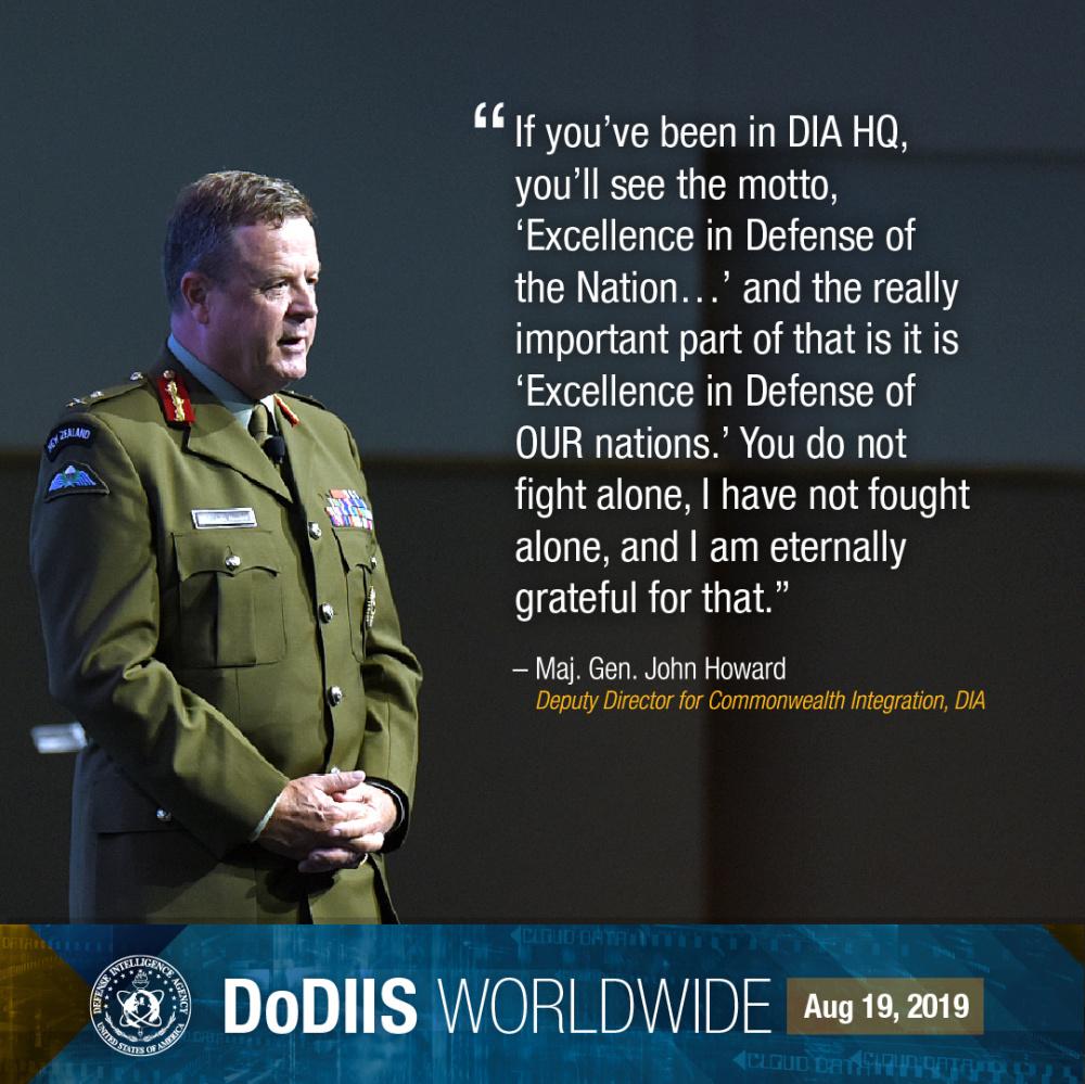 Defense Intelligence Agency highlights intelligence integration at DoDIIS Worldwide Conference