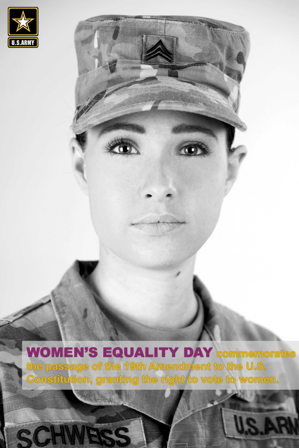 SGT Schweiss Women's Equality Day