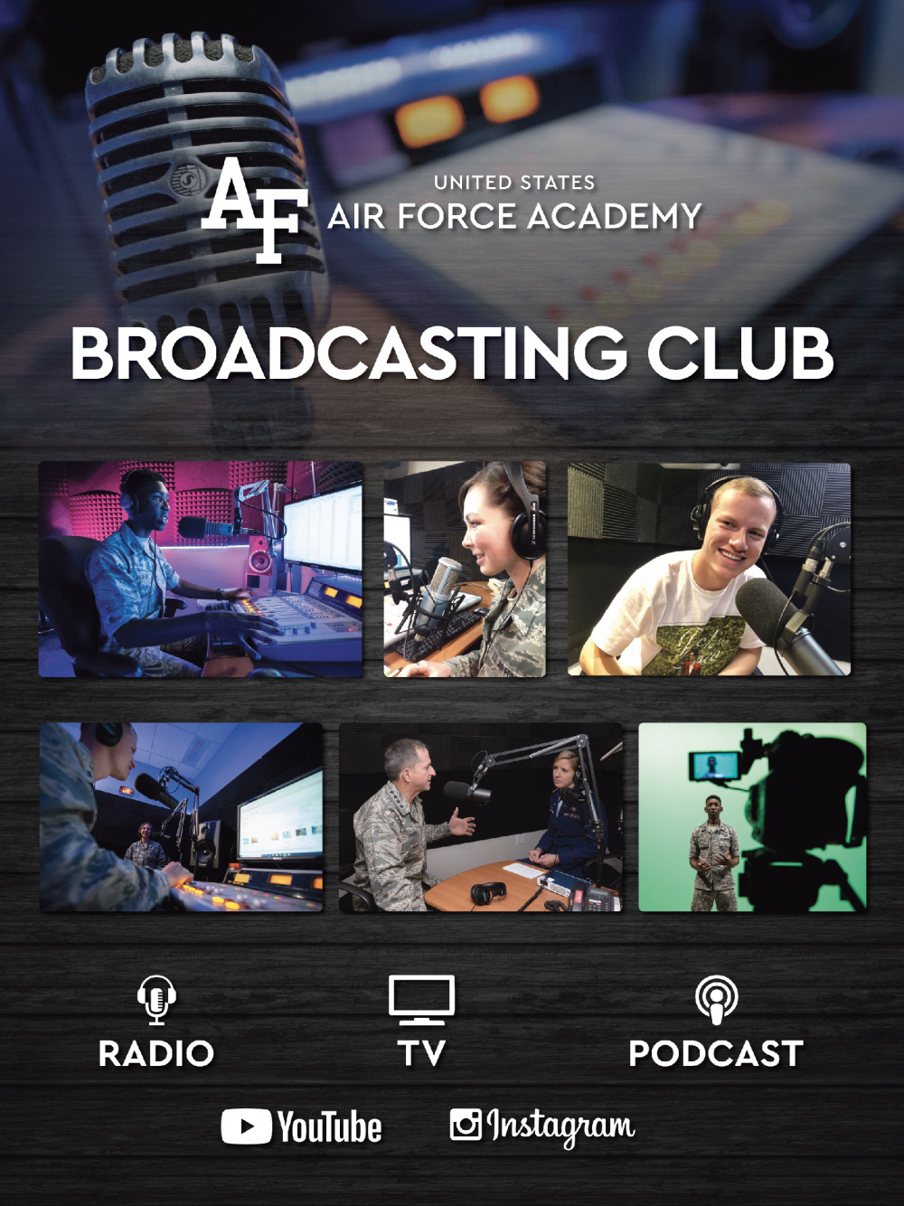 Broadcasting Club Poster