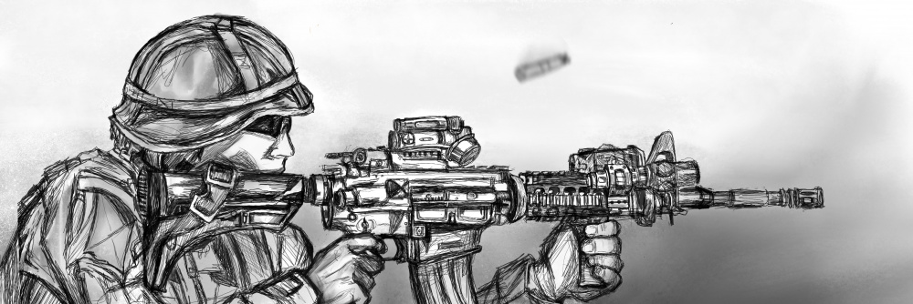 Eager Lion 19: training range illustration