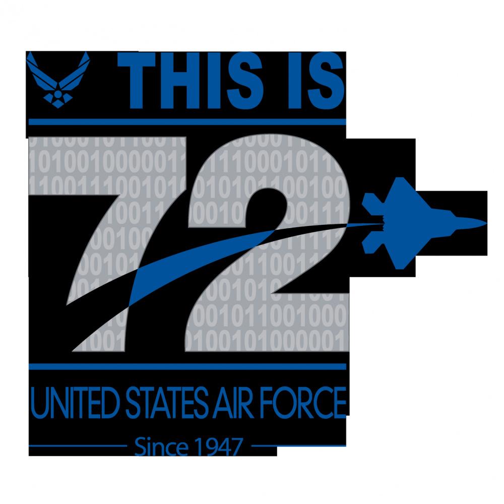 72nd Air Force Birthday Logo
