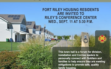 Fort Riley Quarterly Housing Town Hall