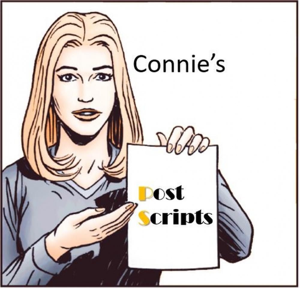 Connie's Post Scripts Logo