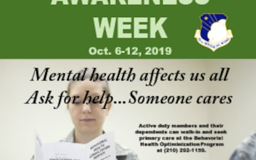 Mental Health Awareness Week 2019