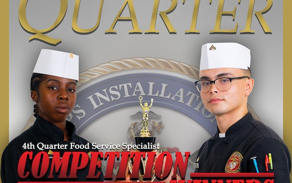 Poster Highlights 4th Quarter Food Service Specialist Competition Winners