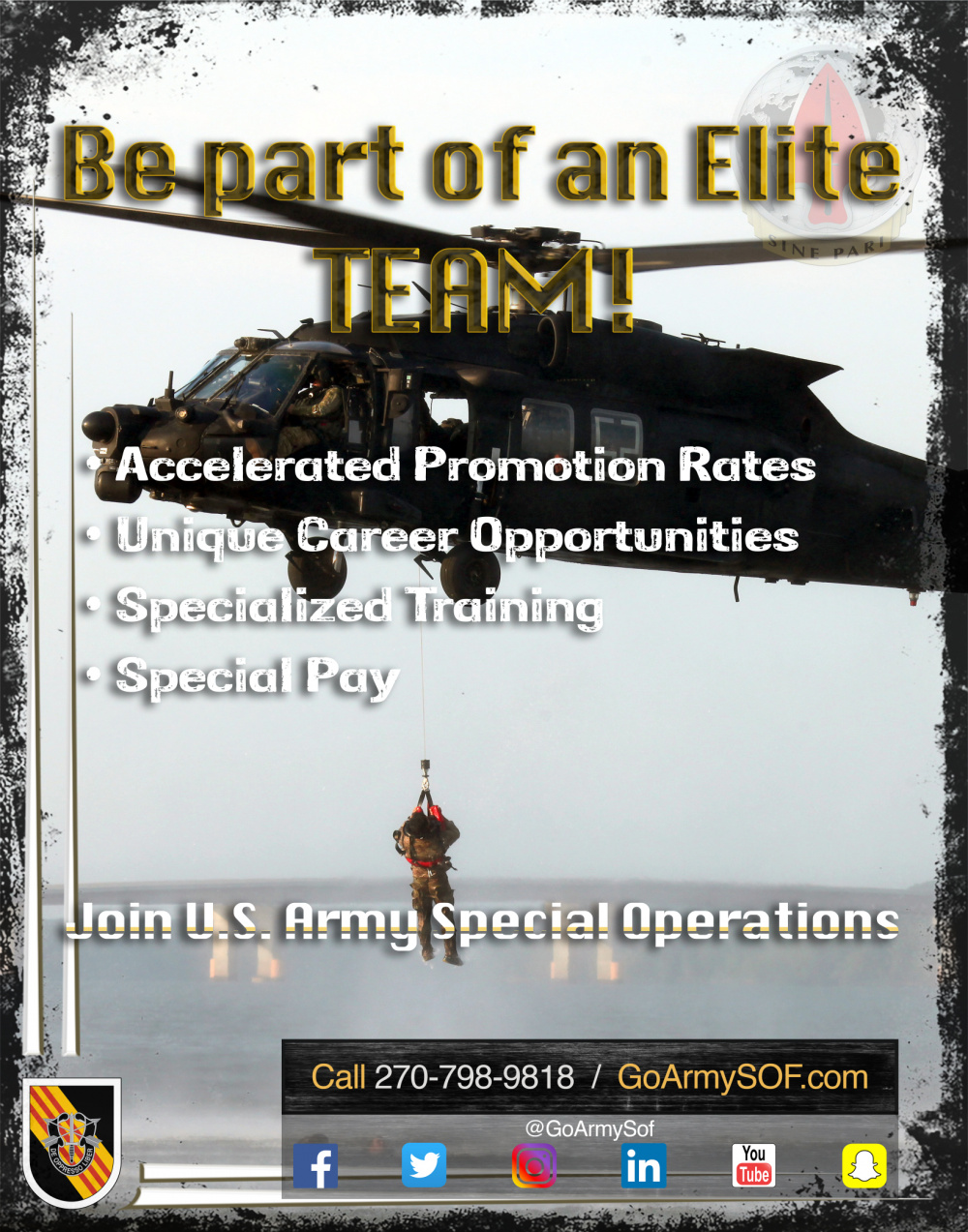 Special Operations Recruiting 5th Special Forces Group (Airborne)