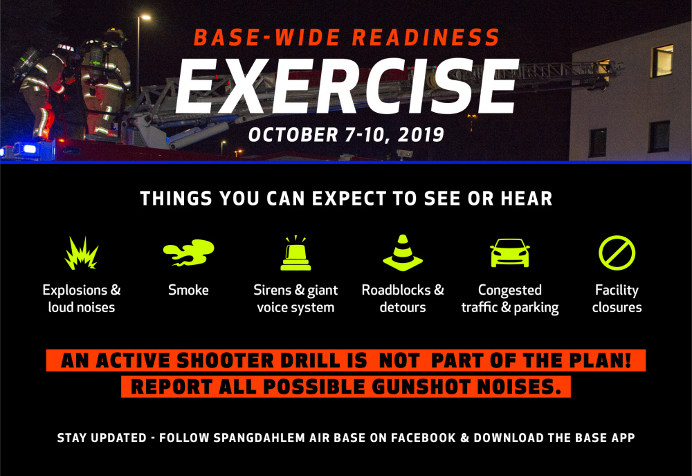 Readiness exercise infographic