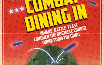 Combat Dining-In Flyer