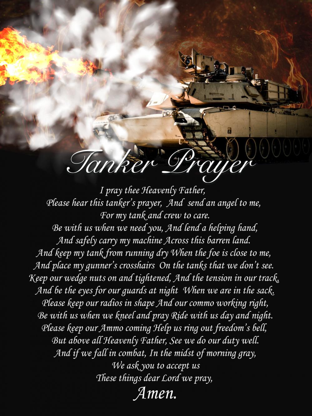 Tanker Prayer