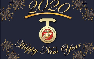 New Year 2020 graphic